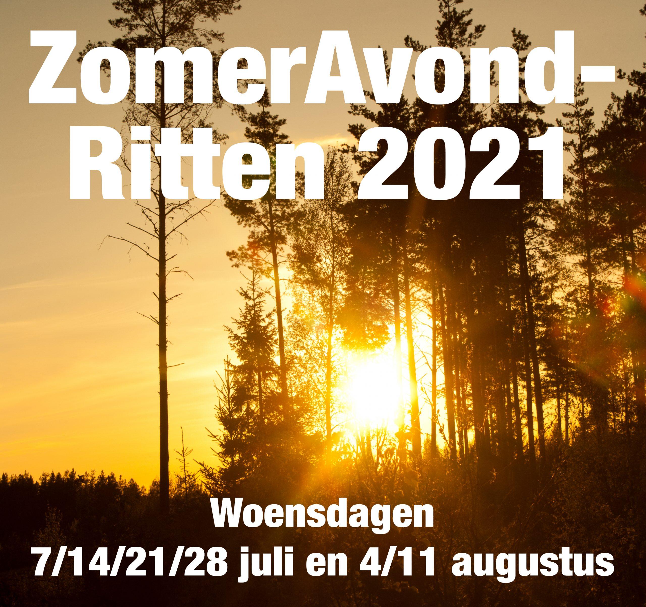 ZomerAvondRitten 2021